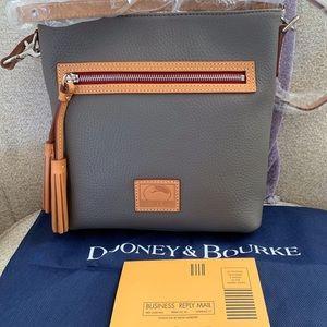 Dooney & Bourke Leather Lani Crossbody New